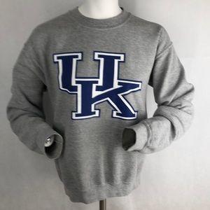 😊 Men's Kentucky sweatshirt UK Sz Small gray
